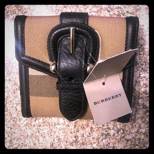 Genuine Burberry Wallet NWT